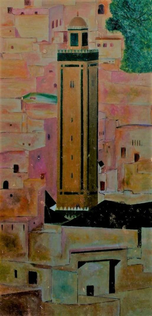 Le grand minaret de Fès